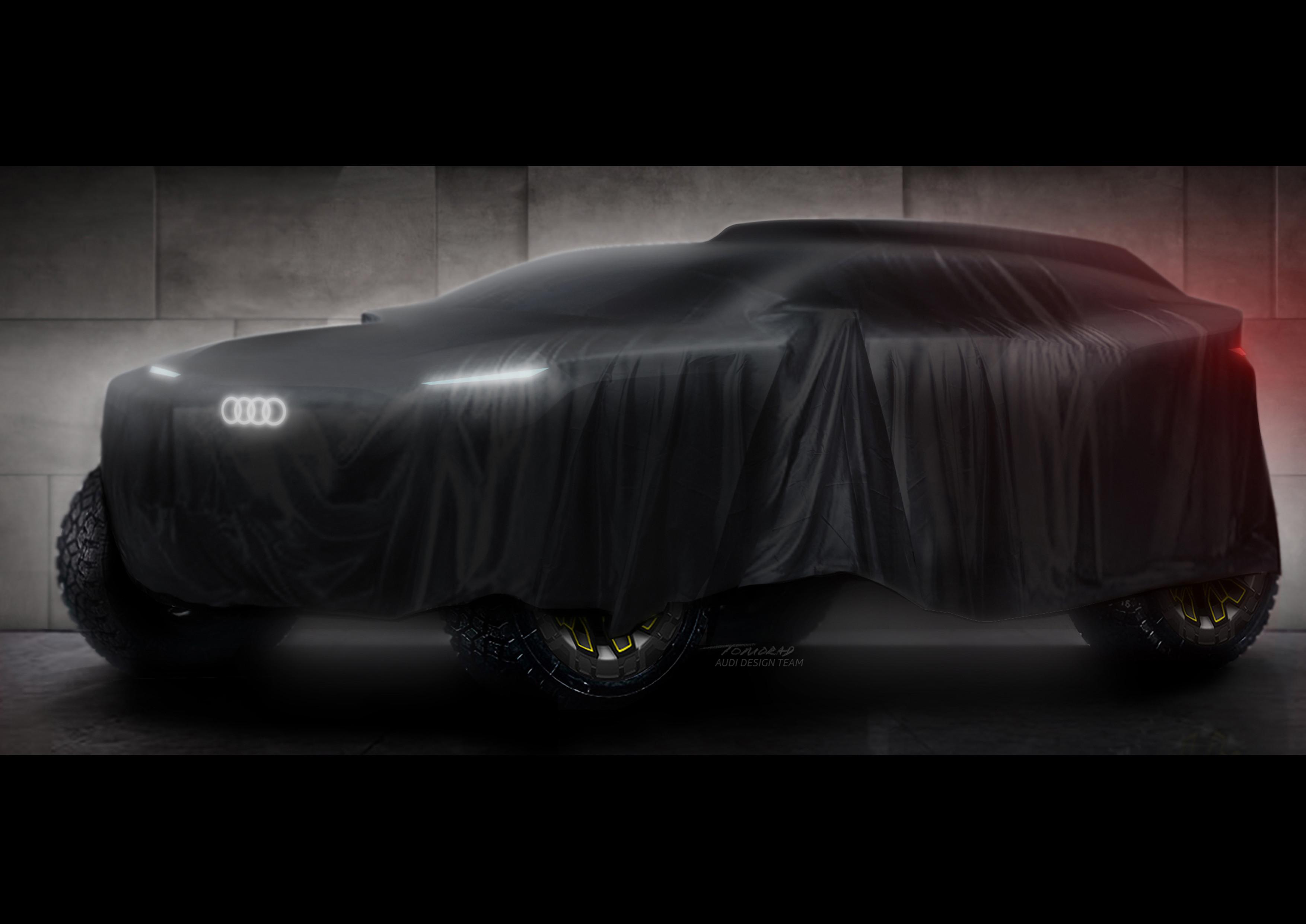 Audi tease sa future participation au Dakar 2022