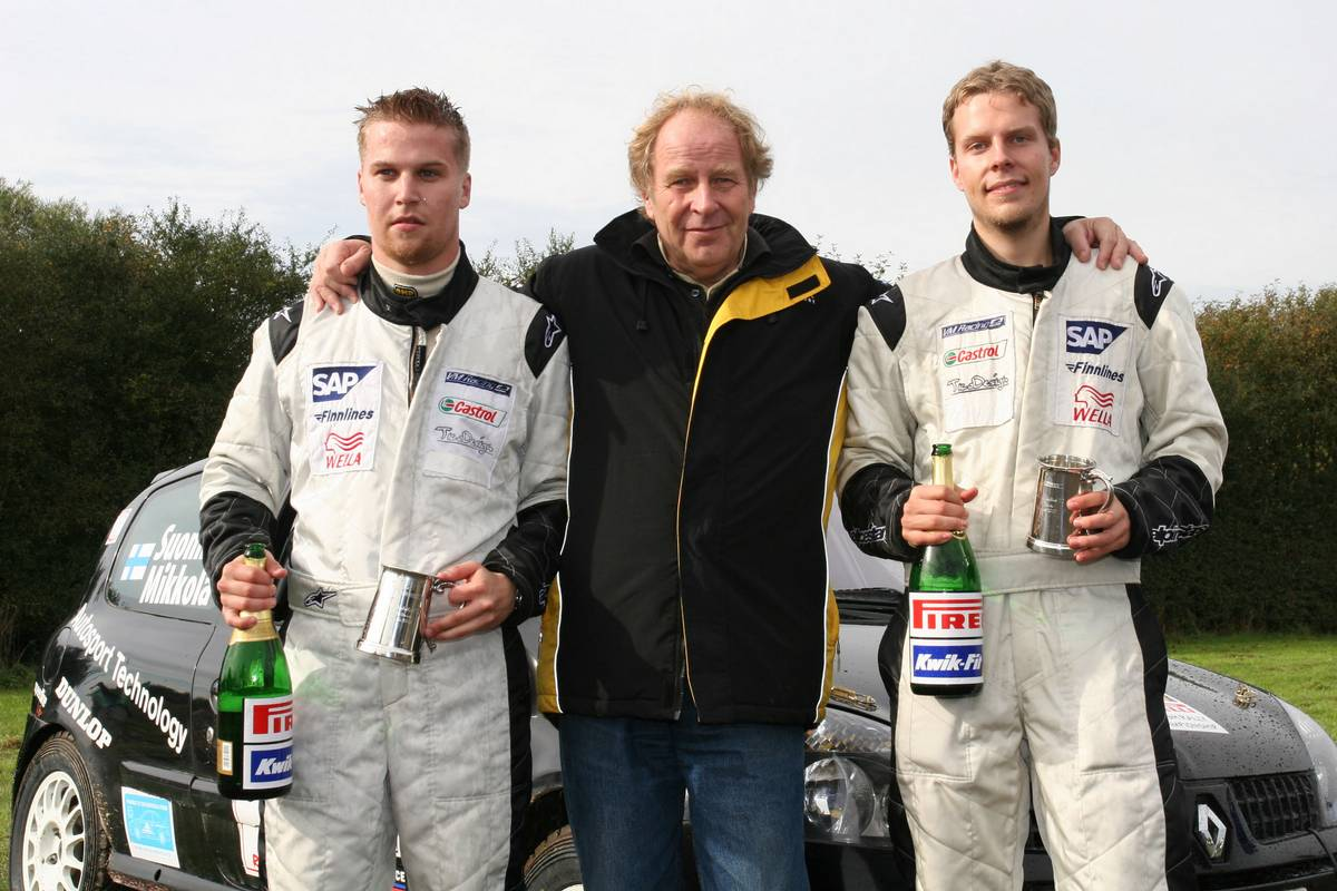 Hannu Mikkola, légende du rallye, est décédé