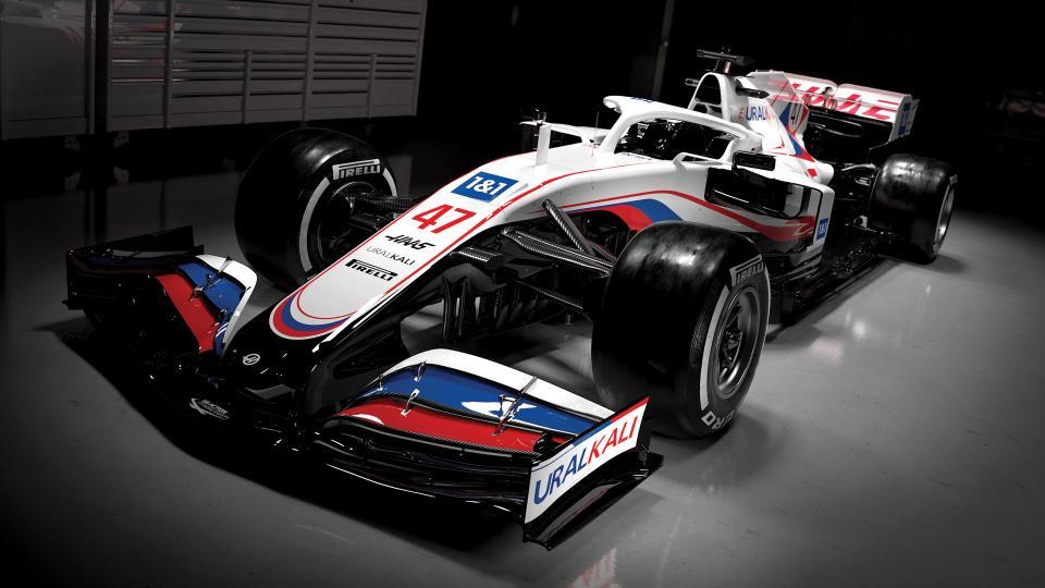 F1 2021 – Nouveaux sponsor et livrée pour la future Haas VF-21