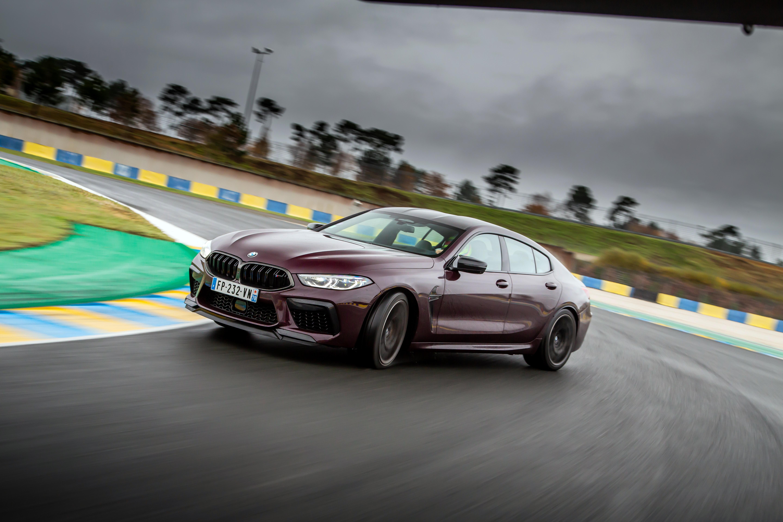 BMW M8 Gran Coupé Competition (2021) : notre Supertest en vidéo !