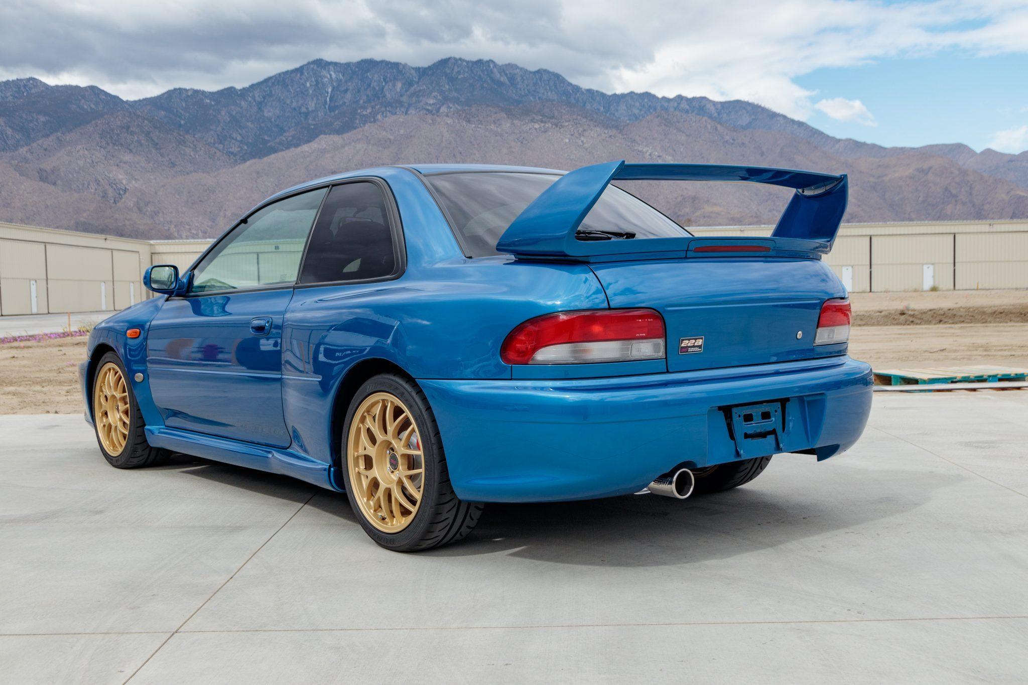 Cette rare Subaru Impreza 22B vendue à prix d'or (+ images) !