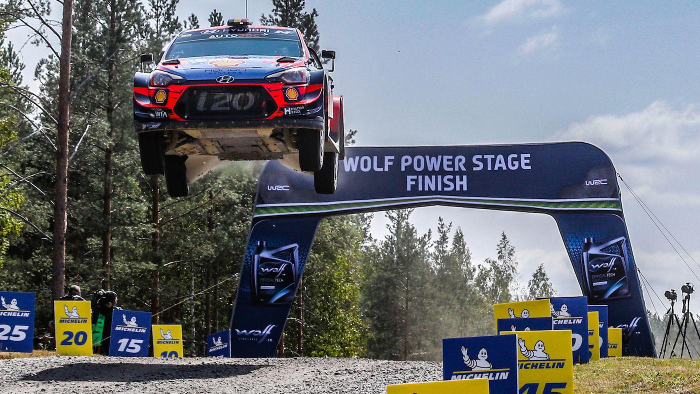 WRC 2021 – Le Rallye de Finlande reporté fin septembre