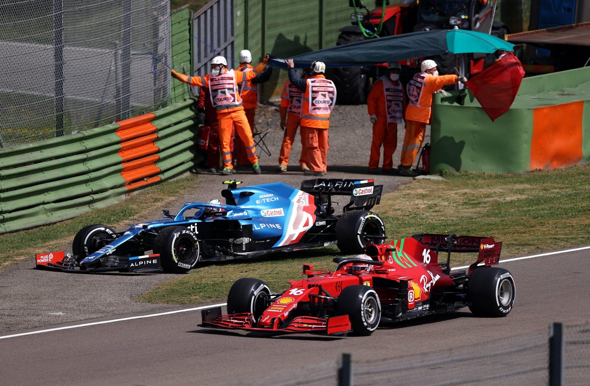 F1 2021 – GP d'Emilie-Romagne (EL1) : Bottas devant, Ocon et Pérez s'accrochent