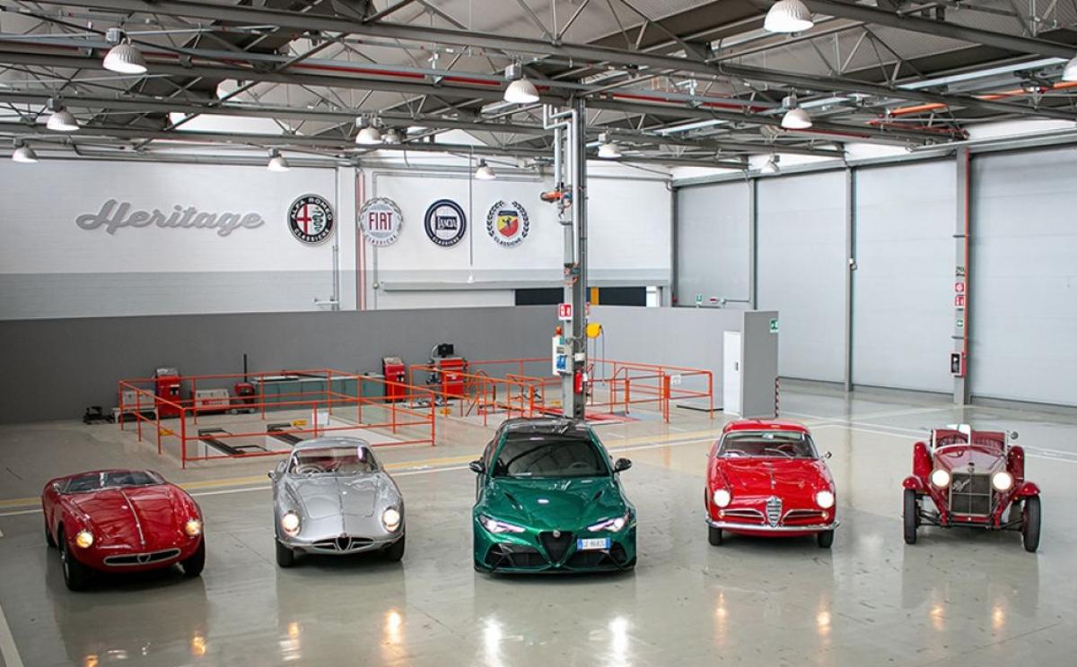 Quatre Alfa Romeo exceptionnelles au départ des 39èmes «Mille Miglia»