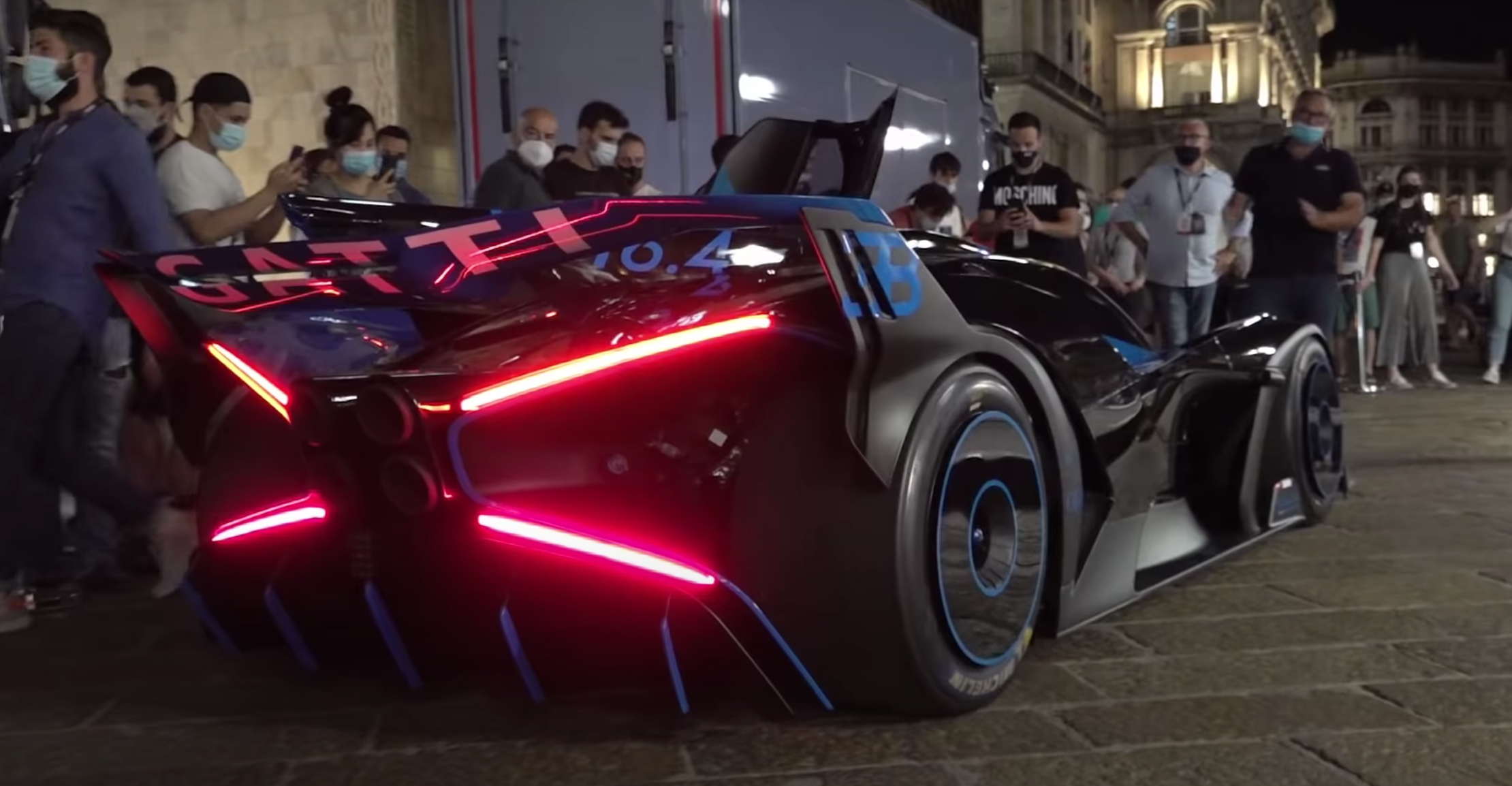 Bugatti Bolide : écoutez l'hypercar et ses 1850 ch rugir au démarrage ! (+ vidéo)
