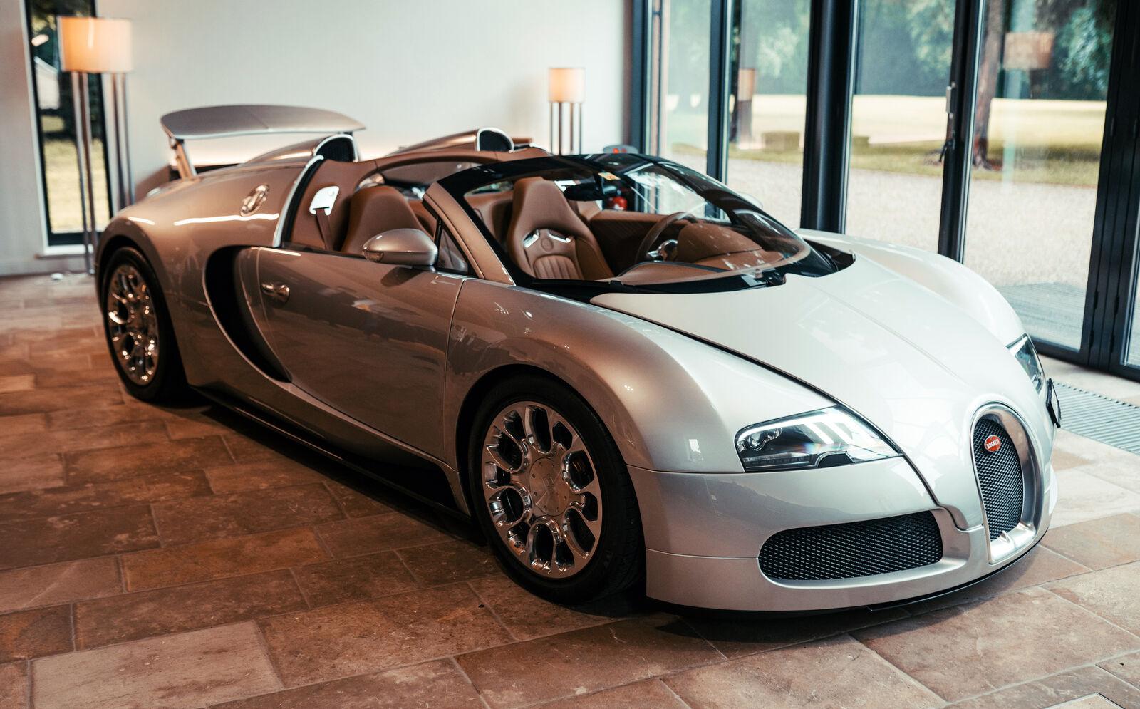 Bugatti a restauré sa première Veyron Grand Sport (+ images)