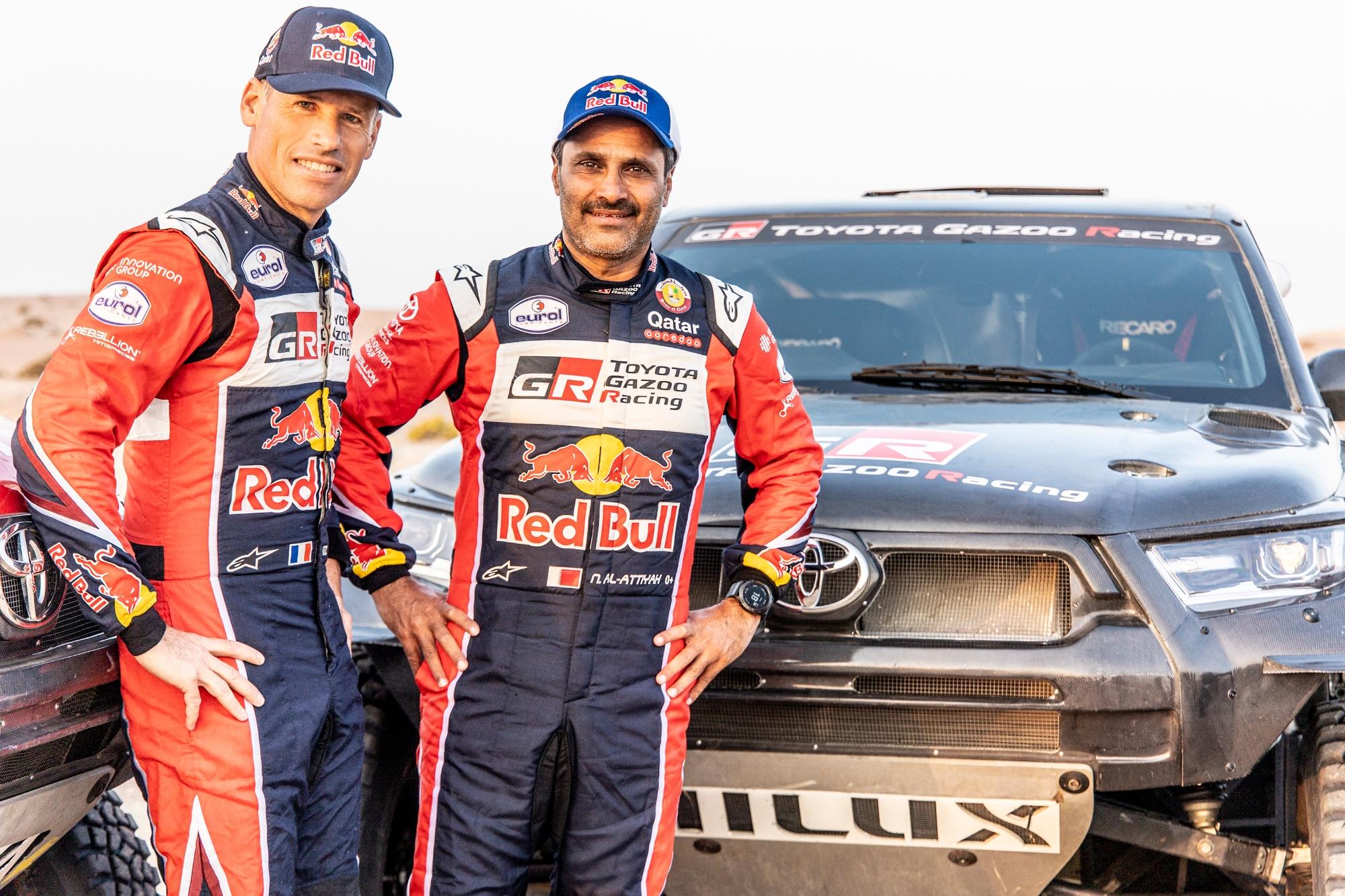 Dakar 2022 : Toyota Gazoo Racing fourbit ses armes