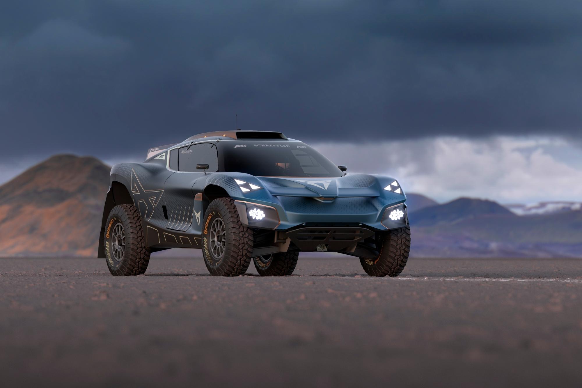 Cupra Tavascan Extreme E Concept (2021) : un avant-goût «sportif» du futur SUV