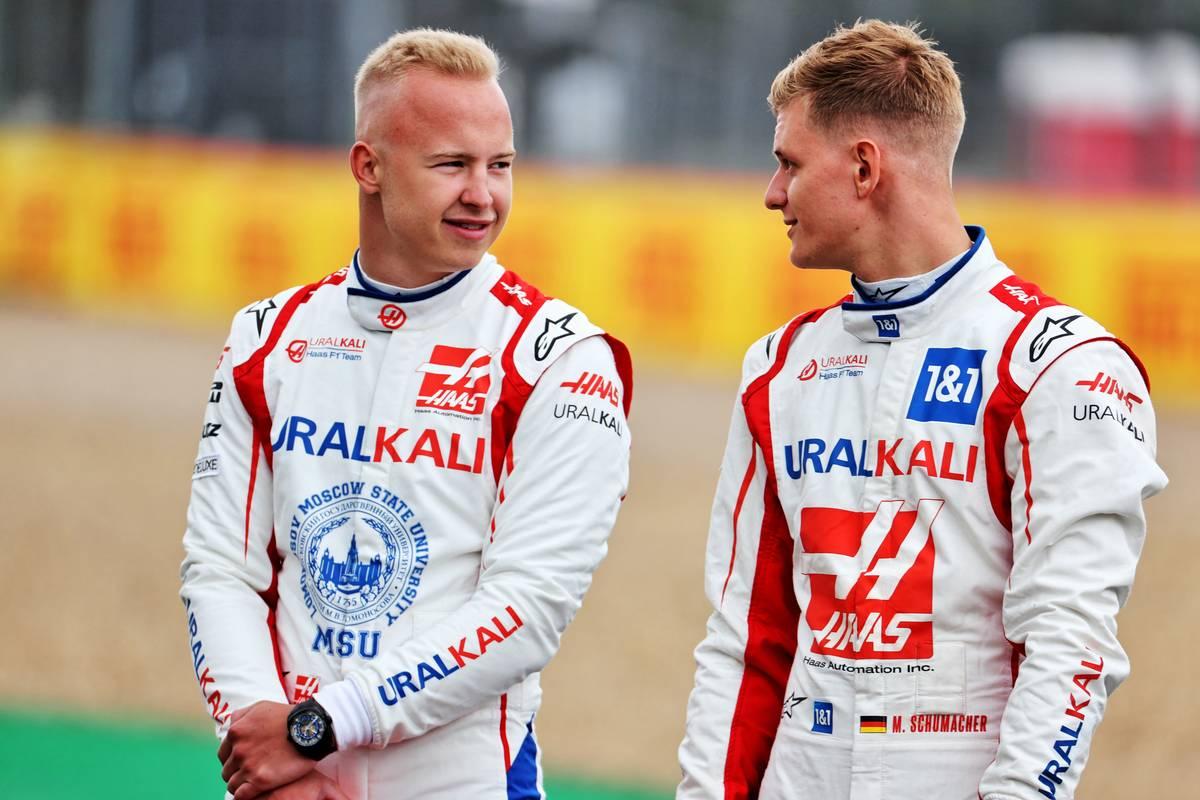 Schumacher et Mazepin confirmés chez Haas en 2022